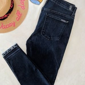 7 For All Mankind Jeans - 7 For All Mankind High Waist Ankle Gwenevere 32